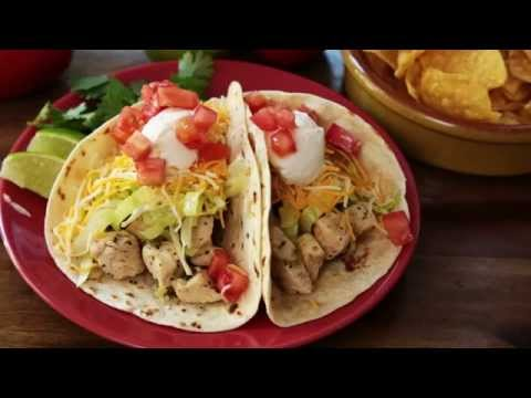 Chicken Recipes – How to Make Chicken Soft Tacos