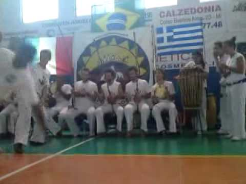 Capoeira Sou Eu Batizado X Milan 2010