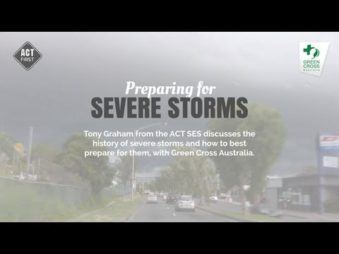 Preparing for severe storms