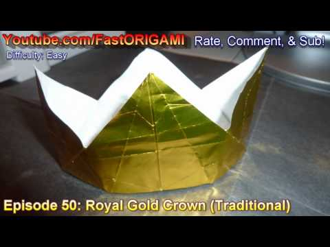 Hat Tutorial - 031 -- Royal Crown