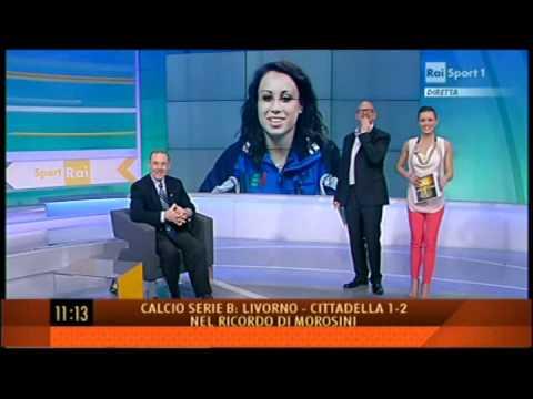 RAI Sport 1 - intervista prima degli Europei di Bruxelles