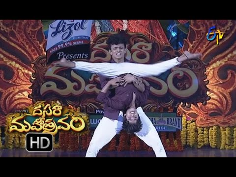 Sanketh Performance | Dasara Mahotsavam  | 11th October 2016 | ETV  Telugu