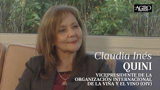 Claudia Inés Quini - Vicepresidente de la OIV
