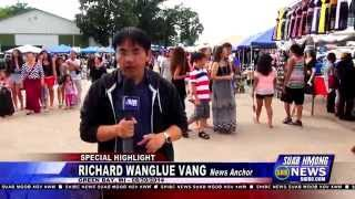 Suab Hmong News:  HIGHLIGHT Day 1 - 2014 Hmong Wisconsin Labor Day Event 08/30/2014