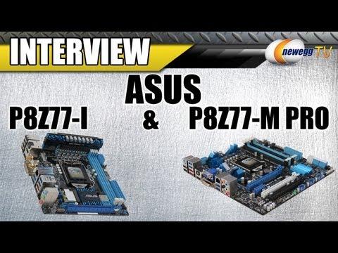 Newegg TV: ASUS SFF Z77 Motherboards Detailed – P8Z77-I Mini-ITX & P8Z77-M Pro Micro-ATX