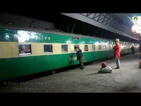 Pakistan Railway Journey Rohri To Jacobabad Travel By Train