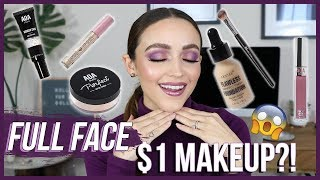 Video TESTING $1 MAKEUP!!! AND OMG!!!! | ShopMissA Haul / GRWM MP3, 3GP, MP4, WEBM, AVI, FLV Maret 2019