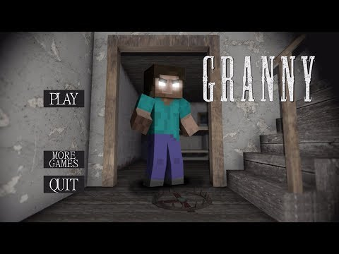 What If Granny Was Herobrine? | Granny (horror Game)