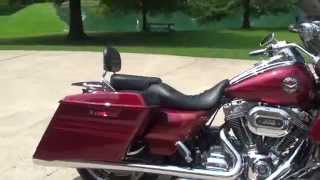 3. HD VIDEO 2013 HARLEY DAVIDSON ROAD KING FLHRSE SCREAMING EAGLE CVO FOR SALE SEE WWW SUNSETMOTORS COM