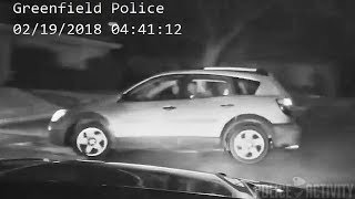 Greenfield Police Perform PIT Maneuver On a Stolen Vehicle