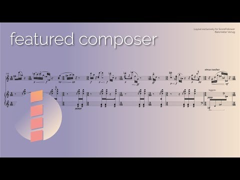Beat Furrer — Presto [w/ score] (видео)
