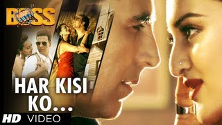 Har Kisi Ko Nahi Milta Yahan Pyaar Zindagi Mein Boss Video Song |