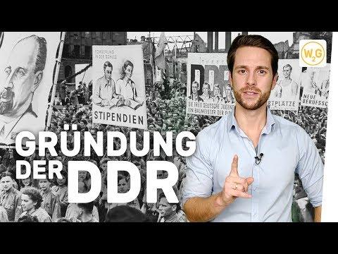 Gründung der Deutschen Demokratischen Republik (DDR)