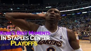 Staples (MN) United States  city photos gallery : Kobe Bryant's Best Playoff Moments At Staples Center
