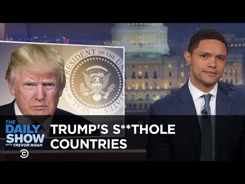 Trump Calls Non-White Countries