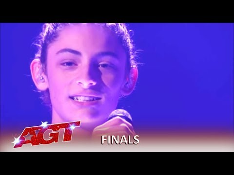 """Benicio Bryant: """"Beni"""" WOWS With An Original Song In The Finals   America's Got Talent 2019"""