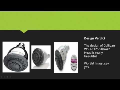 Culligan WSH-C125 Wall-Mount 10,000 Gallon Capacity Filtered Showerhead, Chrome Finish Review