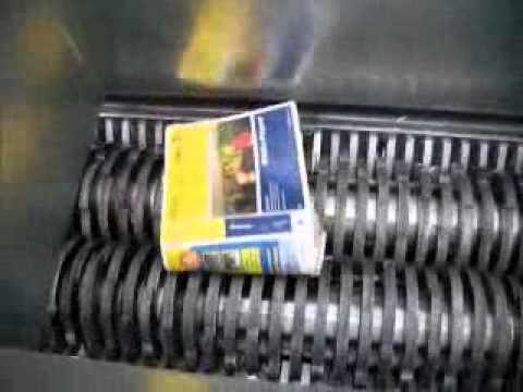 Industrial Shredders - AZ50HD 20mm paper