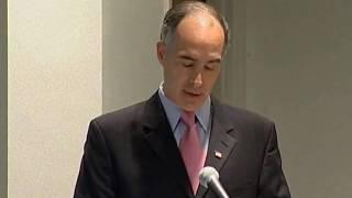Senator Bob Casey Speaks at University of Scranton