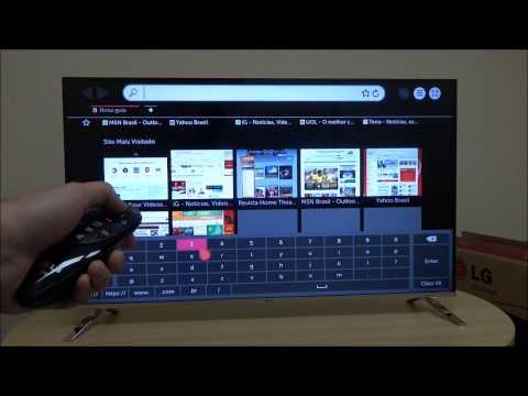 Demonstramos o sistema WebOS das novas TVs LG