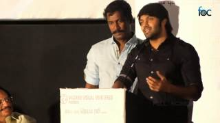 Arya at Nimirnthu Nil Audio Launch