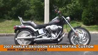 10. Used 2007 Harley Davidson Softail Custom Motorcycles for sale - New Port Richey, FL