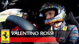Video Valentino Rossi at the wheel of the Ferrari 488 Pista MP3, 3GP, MP4, WEBM, AVI, FLV Juni 2018