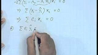 Mod-01 Lec-02 Lecture-02-Simple Linear Regression (Contd...1)