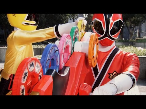 Power Rangers Samurai - Day Off - Power Rangers vs Dreadhead