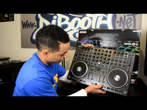 Reloop Terminal Mix 8 Serato DJ Controller Unboxing & First Impressions Video