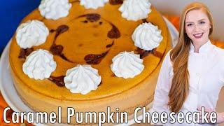 Pumpkin Caramel Cheesecake by Tatyana's Everyday Food