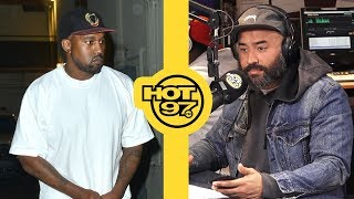 Kanye West Talks to Ebro: 'I Love Donald Trump'