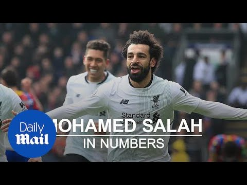 Mohamed Salah's Record-breaking Campaign With Liverpool In Numbers - Daily Mail