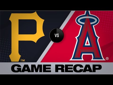 Video: Homers back Keller's 1st Major League win | Pirates-Angels Game Highlights 8/12/19