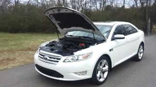 SOLD. 2010 FORD TAURUS SHO AWD ONE OWNER LOADED UP NAV AND MORE CALL 888-653-8056