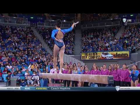 Peng-Peng Lee (UCLA) 2018 Beam vs Utah 9.8