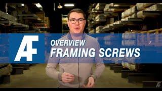 Framing Screws | Overview