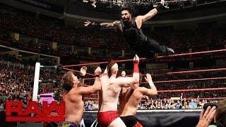 Nonton Roman Reigns Vs  Sami Zayn Vs  Sheamus Vs  Chris Jericho  Raw  July 25  2016 Film Subtitle Indonesia Streaming Movie Download