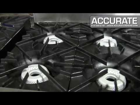 Vulcan 6 Burner Range w/ Oven (NAT GAS) - Refurbished