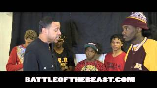 815 Battle of the Beast | Teflon vs. Mello