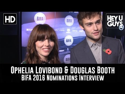 Ophelia Lovibond & Douglas Booth Exclusive Interview - The BIFAS 2016 Nomination Launch