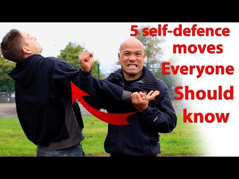 5 Self Defence Moves Everyone Should Know | Master Wong