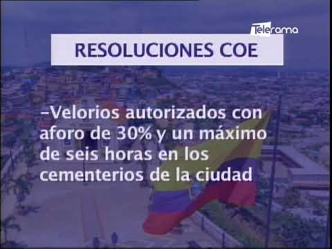 COE cantonal en Guayaquil anunció nuevas medidas que regirán desde este viernes