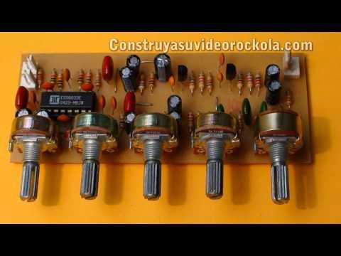 preamplificador - Video tutorial que muestra cono hacer un preamplificador para microfono con reverb y delay, exelente para keraoke o guitarra eléctrica. Utiliza el circuito i...