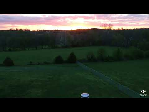 Vacation Rental Near Springfield, MO - James River Mansion - Drone View