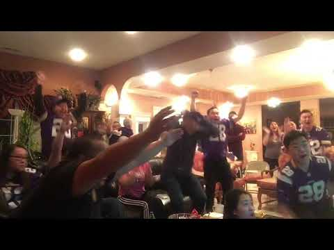 Saints vs Vikings 2018 (Minnesota Vikings  Miracle) Fans Reactions.