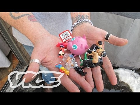 """""""We've been picking the pockets of little children for 18 years."""" CEO of 'Homies' vending machine toys loses millions. (VICE 11:52)"""