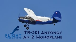 The Antonov An-2 Colt (Антонов Ан-2) is a Soviet single-engine biplane utility/agricultural aircraft designed and manufactured by...