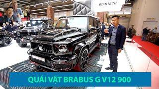 Tìm hiểu QUÁI VẬT Brabus G V12 900