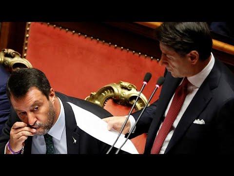 Italien: Präsident Mattarella akzeptiert Contes Rückt ...